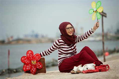 Zaskia Mecca Kayana Tunik wags dan trend model baju muslim hamdeensabahy wags