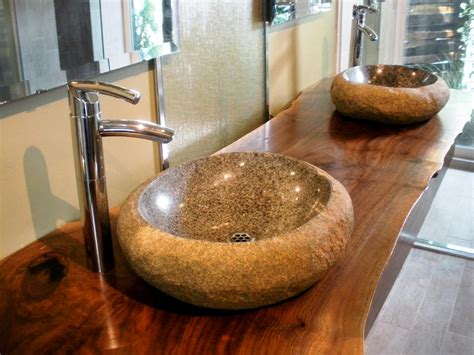 stones in bathroom sink stylish and diverse vessel bathroom sinks