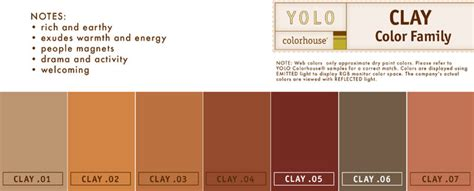 Pale Or Clay Colored After Detoxing by Yolo Colorhouse Clay Color Family