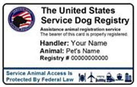 printable service dog id cards service dog vest ebay