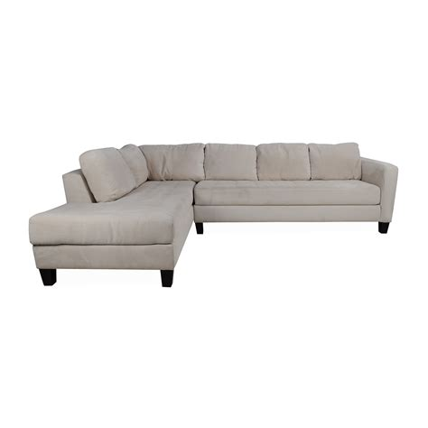 cloth sectional sofas 65 off macy s macy s milo fabric microfiber sectional