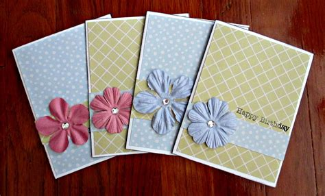 Simple Handmade Birthday Card Designs - 9 best images of easy handmade card ideas simple