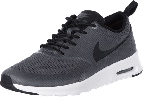 nike air max thea txt  shoes grey white