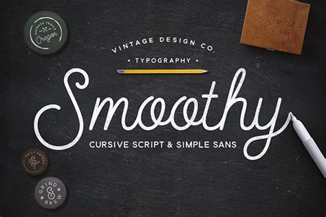 Handmade Script Font - 8 handmade fonts to add to your collection