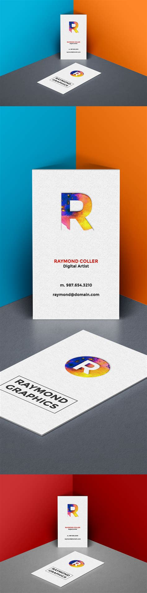 free business card mockup template age themes