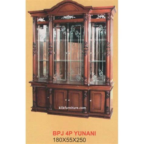 Lp 9540 Lemari 4 Pintu Eleanor Sucitra lemari pajangan 4 pintu bjp 4p yunani harga termurah