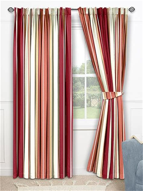 candy striped curtains candy stripe red curtains living room orc pinterest