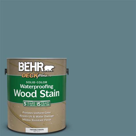 behr solid color waterproofing wood stain behr deckplus 1 gal sc 113 gettysburg solid color