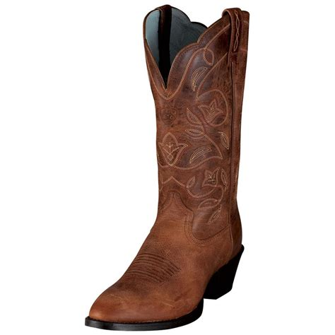 womans western boots s ariat 174 12 quot heritage western r toe boots 153840
