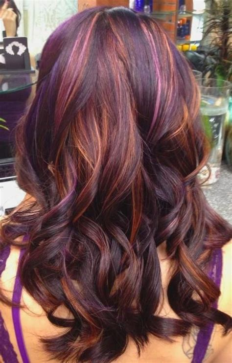 diferent hair highlights for i love that it has like 3 different color highlights love