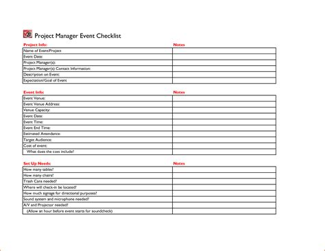 event planner template 5 event planning checklist template bookletemplate org