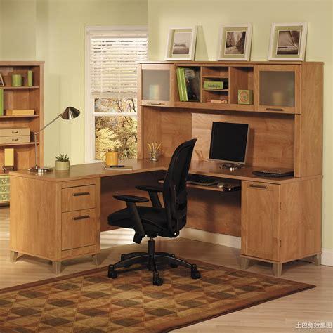 Small Desks With Hutch 家居实木书桌图片 土巴兔装修效果图