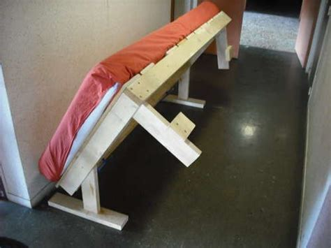 Diy Folding Bed Diy Fold Away Bed Woodworking Plans