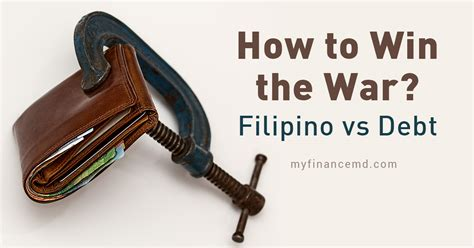 How Can I Win Some Money - how to win the war filipino vs debt my finance md