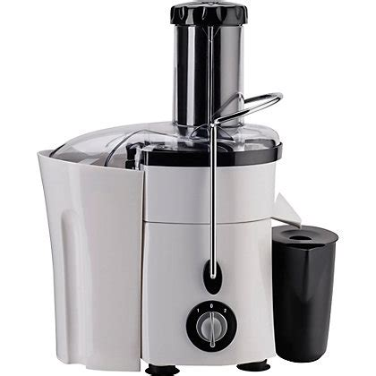 Juicer Russel Hobbs image for hobbs 20365 aura whole fruit juicer white from storename