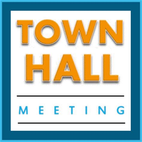 meeting hall alcohol and drug services ads town hall meeting on