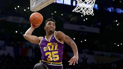 Utah Sweepstakes - donovan mitchell outduels larry nance jr to win nba s slam dunk contest
