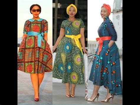 top 50+ african print dresses: stylish african print