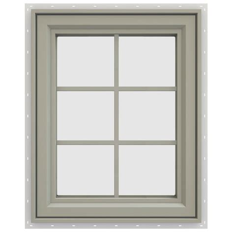 casement window jeld wen 23 5 in x 35 5 in v 4500 series right hand