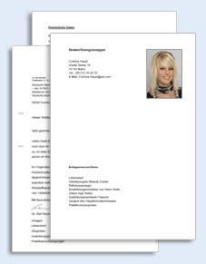 Praktikum Friseur Vorlage Bewerbungs Paket Friseurin Muster Zum
