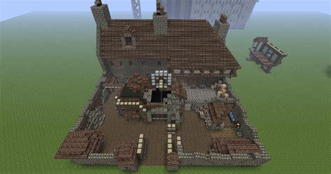 mine house discworld treacle mine watch house ankh morpork minecraft project