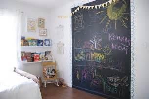 Blackboard Stickers For Walls couleur ardoise d 233 co tissus le blog