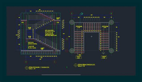 concrete stairs 01 in autocad cad download 69741 kb