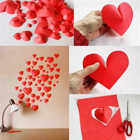 Valentines Day Decoration by Best 35 Easy Heart Shaped Diy Crafts For Valentines Day