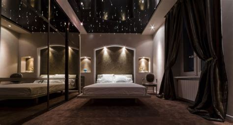 plafond tendu design moderne fa 231 on ciel 233 toil 233 artisan
