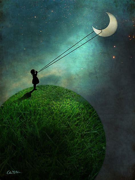 imagenes hermosas surrealistas si toi aussi tu veux d 233 crocher la lune quot chasing the