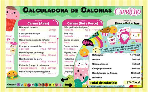 tava de dieta calculadoras de kcal