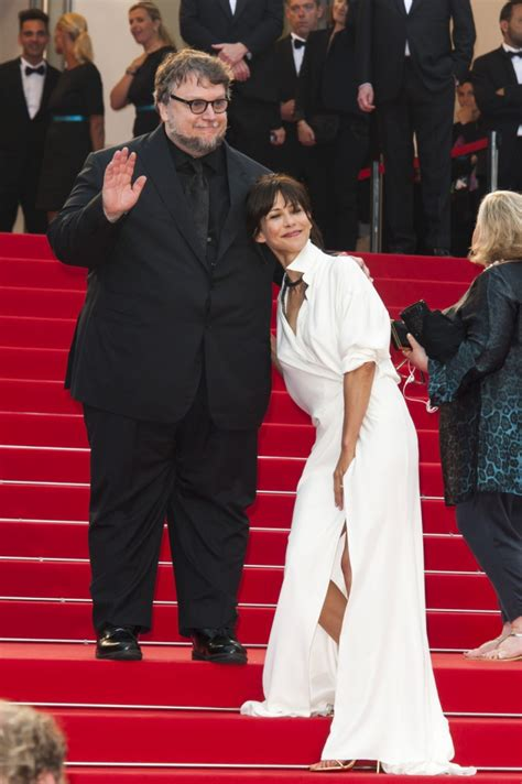 Afida Dress 4 cannes 2015 marceau et guillermo toro