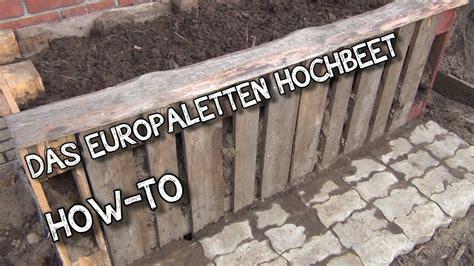 Hochbeet Aus Europaletten 3132 by Das Europaletten Hochbeet How To Der Aussteiger
