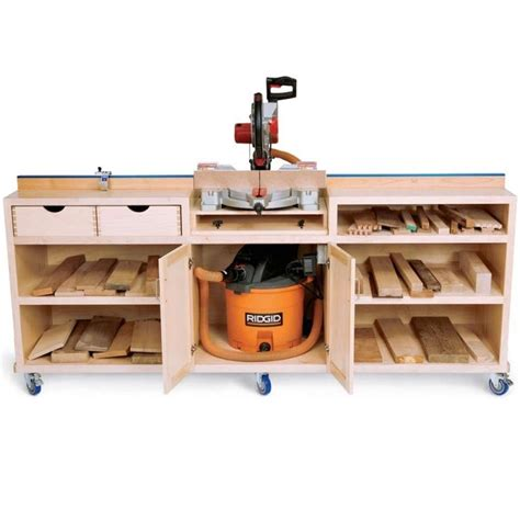chop saw bench designs 25 best ideas about woodworking shop on pinterest wood