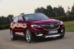 Why Is Vauxhall Called Opel Could Opel And Vauxhall S Upcoming Flagship Suv Look Like