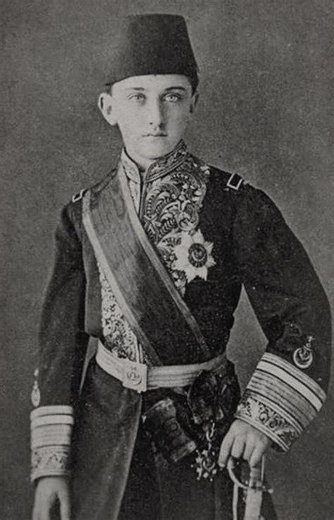 Last Ottoman Caliph Portrait Of şehzade Prince 214 Mer Faruk Efendi 1898 1969 Istanbul Ca 1912 He Was The