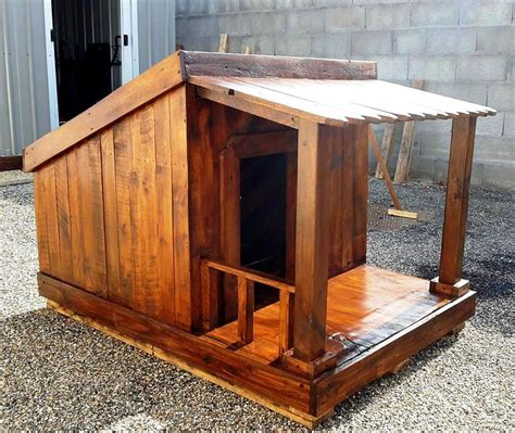 how to make dog houses pallet dog house step by step plan diy crafts