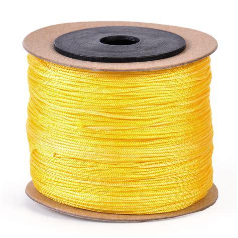 String Thread - 0 8mmx100m cord beading string thread rattail