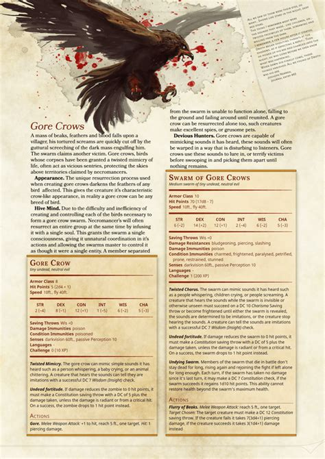 dnd 5e monster manual template crit games