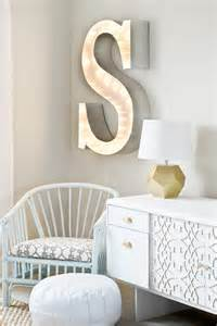 Letter S Home Decor by How To Decorate With Diy Marquee Letters Blissfully Domestic