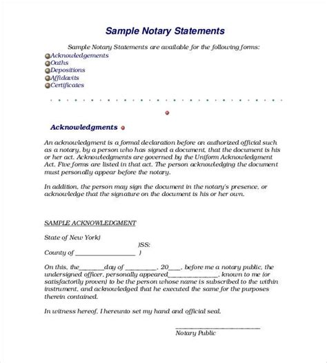 exle of a formal declaration letter declaration statement template best business template