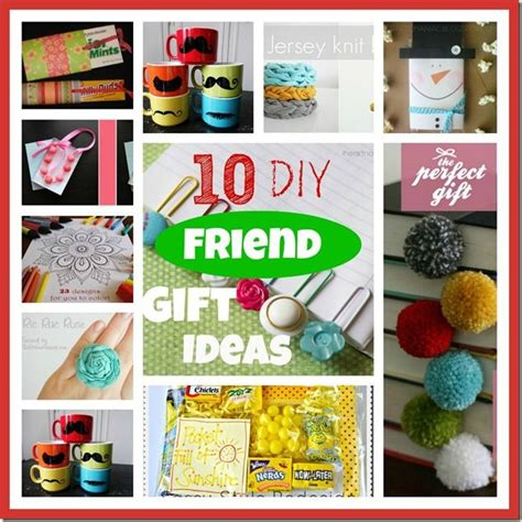 Handmade Gifts For Friends - quot 10 diy friend gift ideas quot so for friends