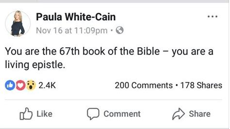 paula white says you complete the bible