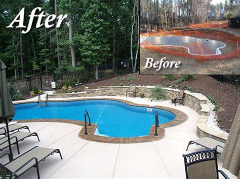 Design My Yard swimming pool patios cti raleigh nc