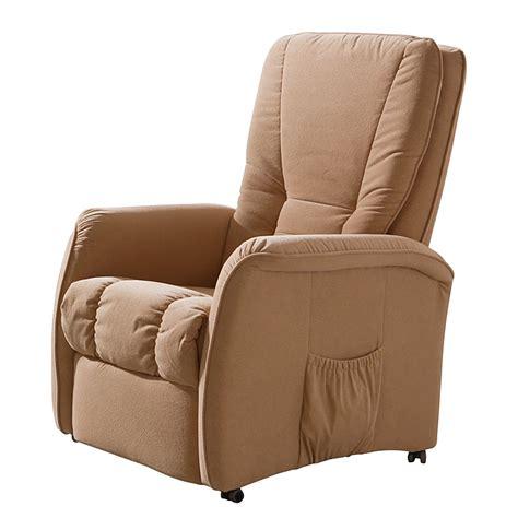fauteuil de relaxation g 246 rlitz microfibre beige 2 moteurs et 1 dis