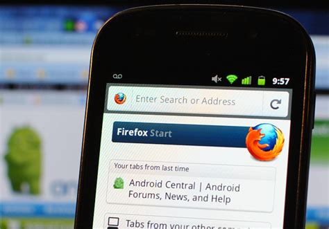firefox browser mobile firefox mobile android browser released android central