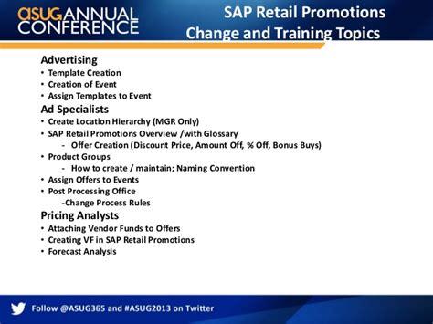sap retail tutorial sap retail promotion management