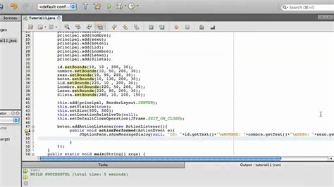 tutorial java using netbeans tutorial 11 parte 2 2 java netbeans www inquisidores net
