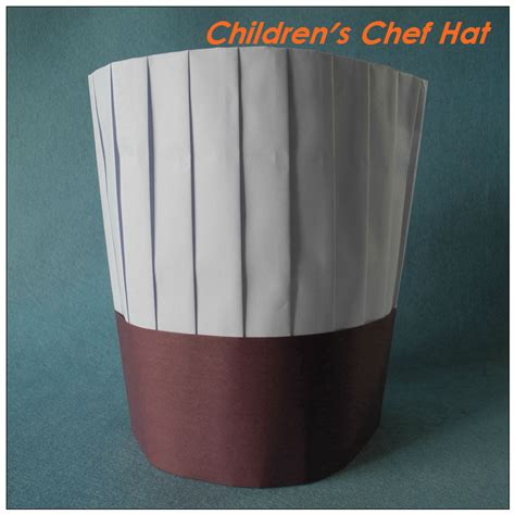 How To Make Chef Cap With Paper - the gallery for gt paper chef hat pattern