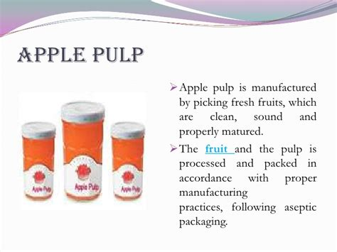8 fruit products products from apple fruit